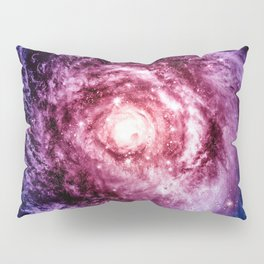 Spiral galaxy Pillow Sham