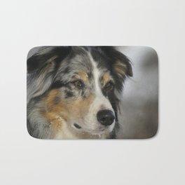 Australian Shepherd Dog Pet Animal Bath Mat