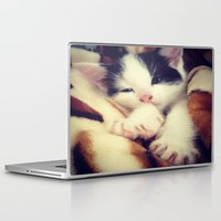 harley Laptop & iPad Skins featuring Harley by LouisaD