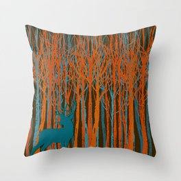 The Catskills Number One Throw Pillow