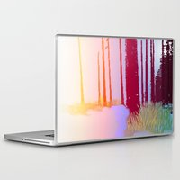 forrest Laptop & iPad Skins featuring Color Forrest by Darla Designs