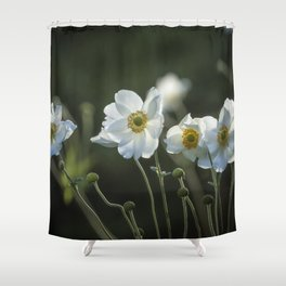 Graceful Anemones, No. 2 Shower Curtain