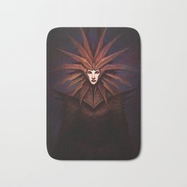 The Lady of Pain Bath Mat