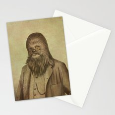 Chancellor Chewman - square format Stationery Cards