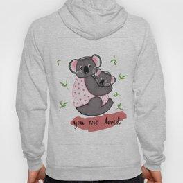 Cute Koalas in jackets Hoody