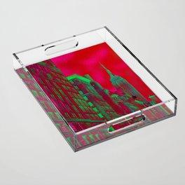 New York by Lika Ramati Acrylic Tray
