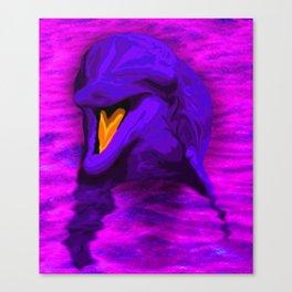 Dolphin Art Canvas Print