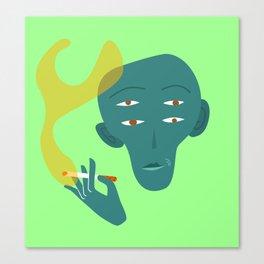Quatre Ulls A Canvas Print