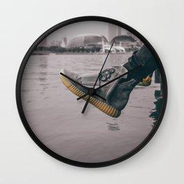 kicks overseas Wall Clock