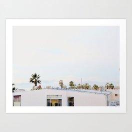 L.A. Dayz Art Print