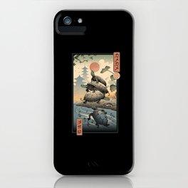 Kame Kame Ukiyo-e iPhone Case
