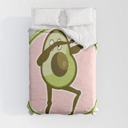Avocado Dabbing Comforters
