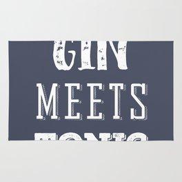 Gin meets Tonic Rug