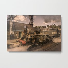 Whitby Express Metal Print