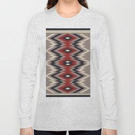 American Native Pattern No. 162 Long Sleeve T-shirt