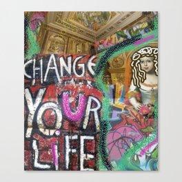 pop art grafitti Canvas Print