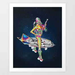 Pocket Rocket Art Print
