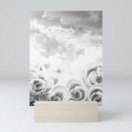 Fading Roses Silver Lining Mini Art Print