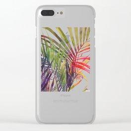 The Jungle vol 3 Clear iPhone Case