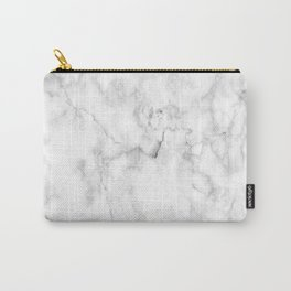 White marble decor Carry-All Pouch
