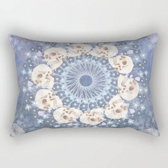 Skull Mandala 2 Rectangular Pillow