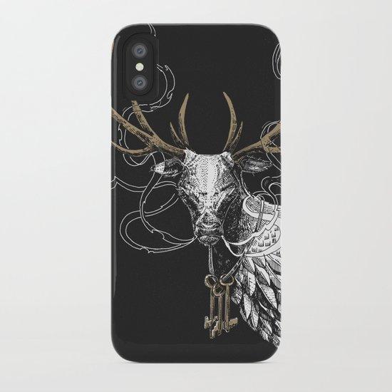 Oh Deer! Light version iPhone Case