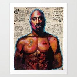 lyrics,poems,rapper,colourful,colorful,poster,wall art,fan art,music,hiphop,rap,rapper,legend,shirt, Art Print