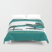 eames Duvet Covers featuring Eames by Retale
