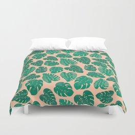 Cheese Plant - Trendy Hipster art for dorm decor, home decor, ferns, foliage, plants Duvet Cover