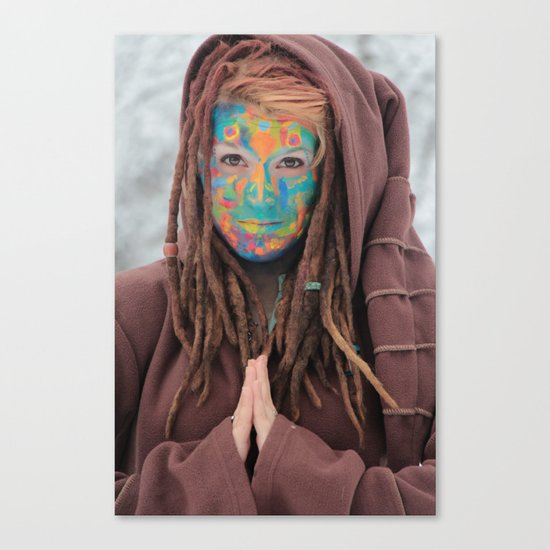 One of the Rainbow Warriors  Canvas Print