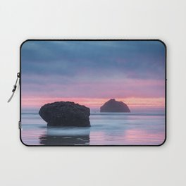 Hug Point, Oregon at Sunset Laptop Sleeve