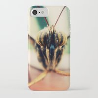 moth iPhone & iPod Cases featuring moth by Sookie Endo