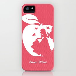 Snow White art film inspired iPhone Case