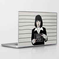 mia wallace Laptop & iPad Skins featuring Mia by Sofia Bonati