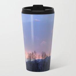 Chugach Mts Serenity Sunrise - II Travel Mug