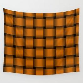 Large Dark Orange Weave Wall Tapestry