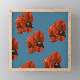 big poppies Framed Mini Art Print
