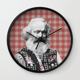 Punk Marx Wall Clock
