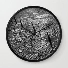 Sand Patterns Wall Clock