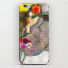 Lego: Femme et anemones iPhone & iPod Skin
