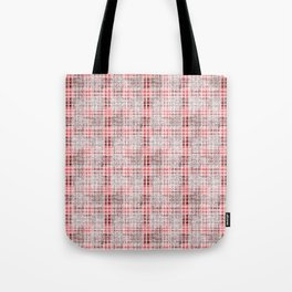 Classical red-gray cell. Tote Bag