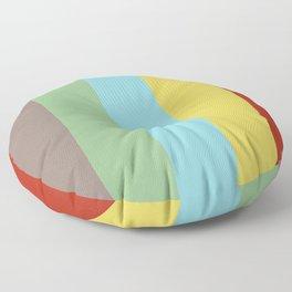 Classic Stripes Retro Style Floor Pillow