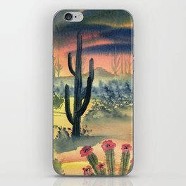 Desert Twilight iPhone Skin
