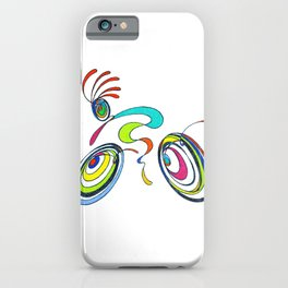 Bicycle, Cycling - Kokopelli rides again iPhone Case