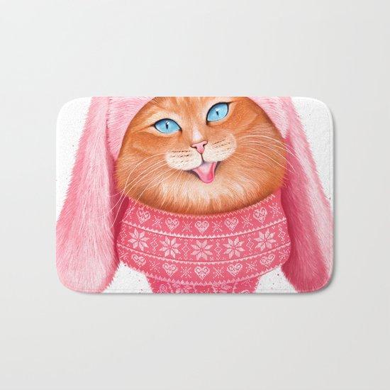 Cat meow Bath Mat
