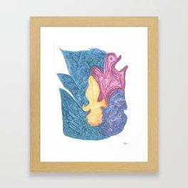 Drawing #143 Framed Art Print
