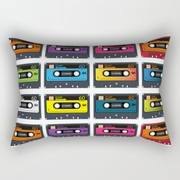 Vintage audio tape Rectangular Pillow
