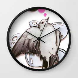 toot! | Collage Wall Clock