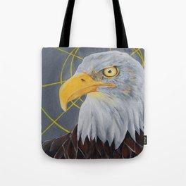 crazy eye eddie Tote Bag