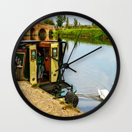 Tranquility. Wall Clock